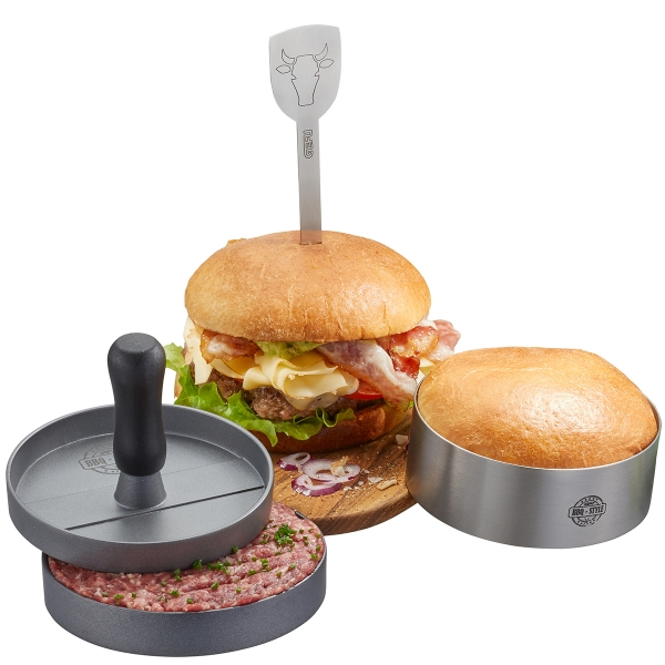 Burger-Set BBQ, 3-teilig