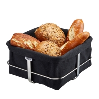 Brotkorb BRUNCH, eckig, schwarz